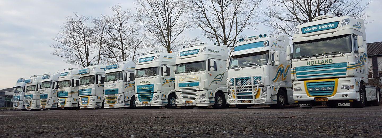 Frans Kuiper Transport - Een transport bedrijf in geldermalsen